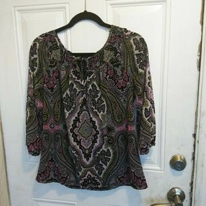 INC International Concepts Petite blouse